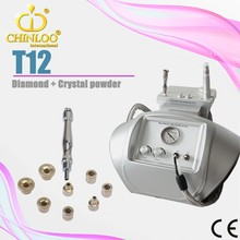 T12 stock a lot skin care diamond dermabrasion beauty machine for skin rejuvenation with CE