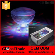 4 Ultra-Bright LEDS Party Disco Underwater Light Show Hot Tub Spa Pool Bath .H0079