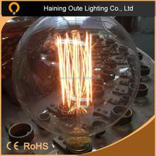Superb quality raw material 2015 best bulb filament light G125 lamp