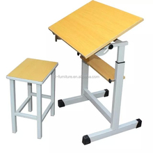 Professional school study desk and chair