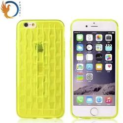 High Clear 3d tpu phone case silicone phone case /tpu case for iphone6 Plus