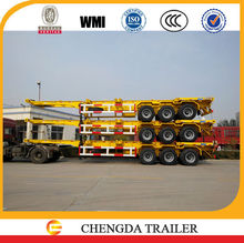 40ft container chassis, trucks and trailers, skeleton semi trailer