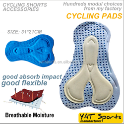 moisture wicking fabrics coolmax bib Cycling Shorts pad