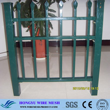 wood garden edging fence/forge fence/plastic artificial fence
