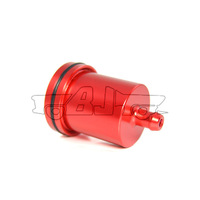 BJ-OC-008 bottom outflow bracket red CNC motorcycle brake clutch fluid reservoir