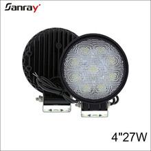High quality offroad 4x4 4wd led headlamps auto lighting system 27w fog lamp new car led light car wheel led light