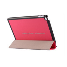 New Fashion cute stand slim cover case with PC cover for Ipad air2 tablet