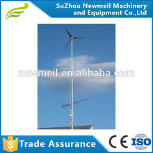 Horizontal axis 600W 24V 48V wind turbine generator ideal for house use
