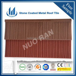 Hot Sale Stone Coated Metal Roof Tile Africa warehouse in Nigeria for house using