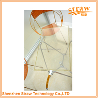 High Flexibility 5 Wire 22.0 Inch Monitor Display Resistive Touch Screen (DC-RTP22009)