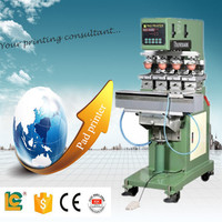 new product pad printing machine price LC-SPM4-150 tampo printer for Lighter ,pen,promotion gift