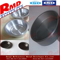 China OEM high precision tantalum tungsten crucible