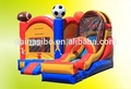 gmif hinchable saltando castillo inflable de diapositivas con los puentes de los niños