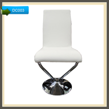 Modern Design High Tub Chair White Leather Bar Stool