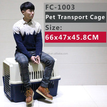 Pet carrier with 4 side of ventilation for small dogs