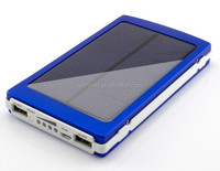 Universal handy solar battery charger 10000mAh with 4 LED charging indicator for smartphones