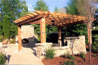 wpc decking pergola gazebo gpergola kits wooden carport awning flower vine wood shed leisure park flower garden courtyard pergol