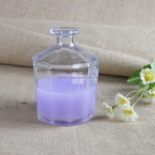 Hot Sale Room Scent Aroma JZX-75 reed diffuser glass bottle