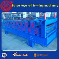 galvanized roofing sheet glazed roof tile ,automatic zigzag roof tile roll mill