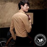 200 grams manufacter silk/cotton flowered sword brand shirts