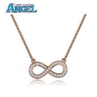 rhinestone number necklace