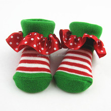 Bright colored lovely baby sock