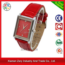 R0169 high quality PU strap his and hers quartz watches, japanese movement elegance his and hers quartz watches
