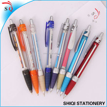 Advertising colorful paper inside pen
