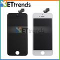 Ensamblaje LCD para teléfono celular iPhone 5, precio de placa base LCD para iPhone 5, piezas de repuesto LCD para iPhone 5