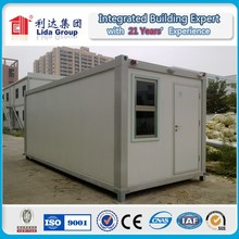 Safe and durable EPS/PU/Rock wool/Fiber glass container house for Qatar 2022 world cup