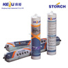 Mould-proof silicone sealant, hardening or cracking