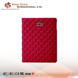 For flip stand high quality ipad leather case