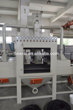 BA Professional Supplying fully automatic conveyor sandblasting machine excellent for Object surface blasting