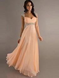 wholesale straplong maxi long chiffon evening dress