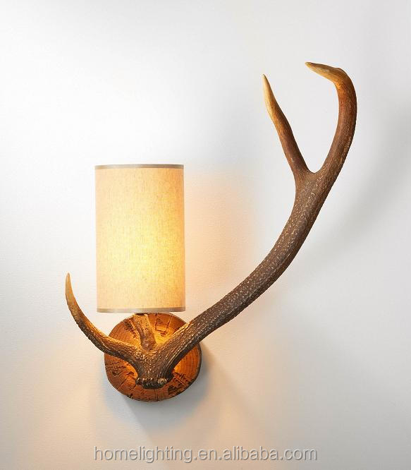 Applique Murale Bois De Cerf : Antler Wall Lights