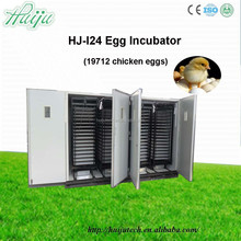 Factory sale competitive price egg incubator 19712 incubator eggs with large capacity