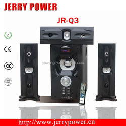 Home theater music system 3.1 multimedia speaker system