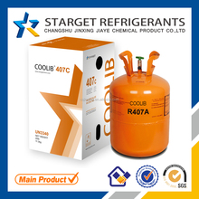 Mix refrigerant gas R407c price, New Quality, SGS, DOT,CE cylinder is avaliable