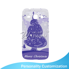 White Blank Frosted Light Weight Plastic 5 Inch 3D Sublimation Printing Blank Cell Phone Case For Samsung Galaxy Core Plus