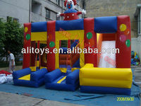 inflatable bounce and slide combo/inflatable combo