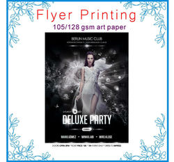 [Direct Factory+high quality] flyer printing cheap flyer printing printing service [cheap price +Professional]