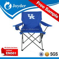 popular outdoor picnic garden furniture factory directly offer bule lightweight portable fabric folding beach chair with kids