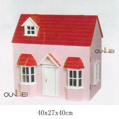 소형 인형의 집 조립식 나무 집 인기있는 어린이 나무 인형의 집 ...