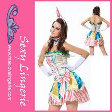 Ml5376 circo Candylicious Sexy traje de payaso para adultos