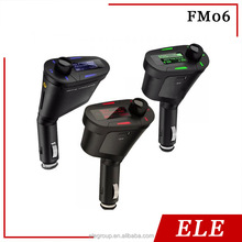 Car MP3 WMA Player/ FM transmitter; Support SD/MMC memory card(Max 8GB) and USB flash driver