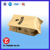No.1218 new food grade craft paper packaging bag for snack/coffee