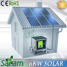 High Efficiency 6KW Used Solar Generators For Sale