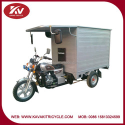 Guangzhou Panyu Nancun factory produce fashion white air-cooled 250cc large tricycle