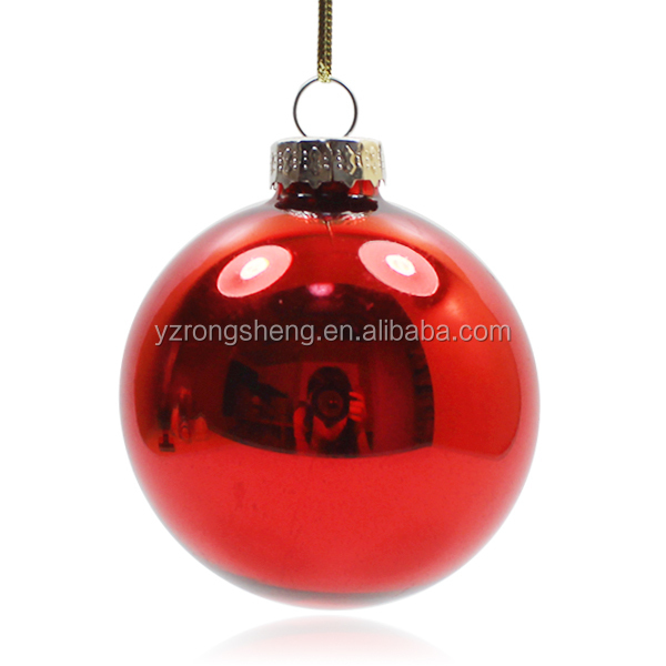 Wholesale colorful christmas glass balls