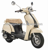 50cc scooter/125cc moped/150cc gasonline 2013 newest gas scooter with best design,LED light,EEC & COC approval scooter 50QT-27